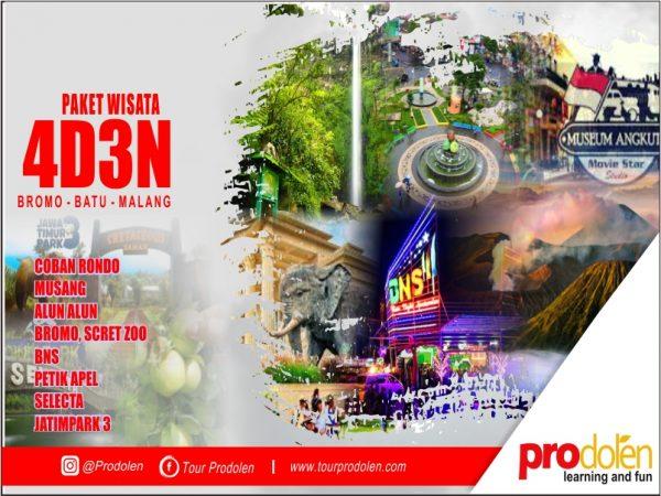 Paket Wisata Batu Malang Bromo 4 Hari 3 Malam